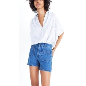MADEWELL | High-Rise Pocket Jean Shorts fits 25